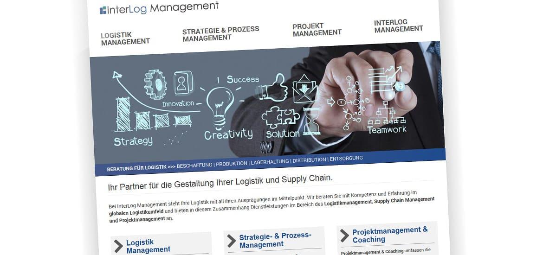 Screenshoot InterLog Management