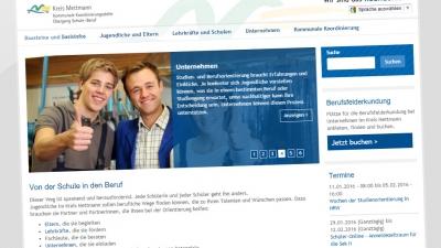 Kommunale Koordinierung Kreis Mettmann Screenshot