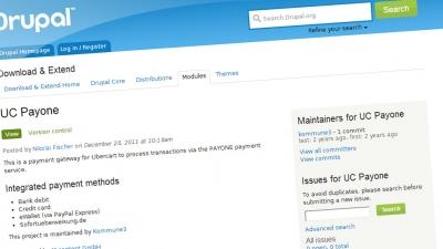 Screenshoot UC-Payone-Modul